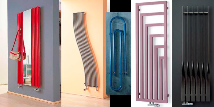 Варианты вертикальных радиаторов в доме