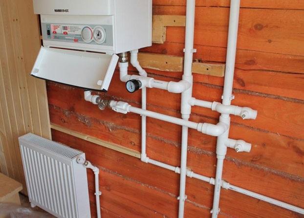 Диаметр трубы для системы отопления