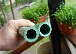 Труба армированная стекловолокном для отопления