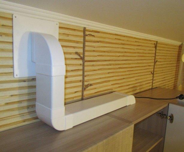 Пластиковые короба для вентиляции
