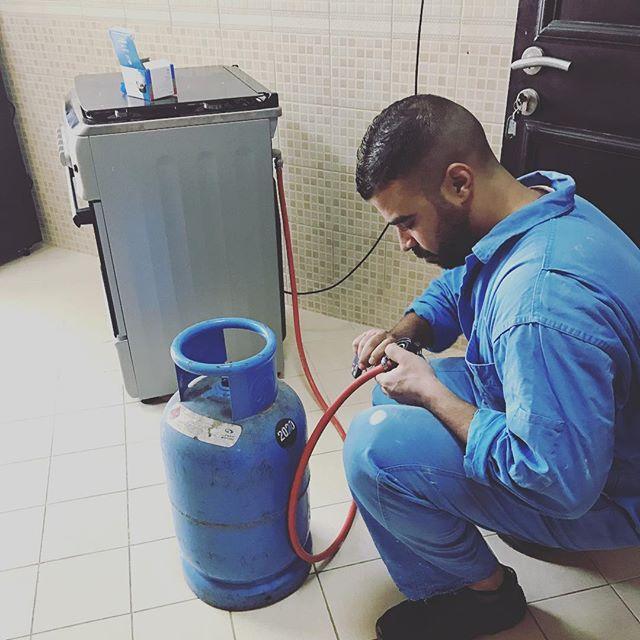 Замена гибкого шланга газовой плиты