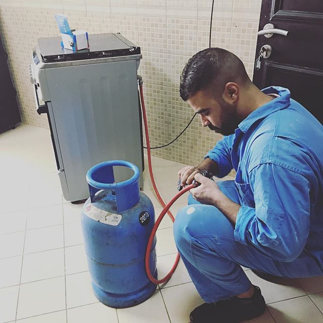 Подключаем газовую плиту гибким шлангом