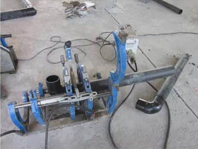 Пайка полиэтиленовых труб для водопровода
