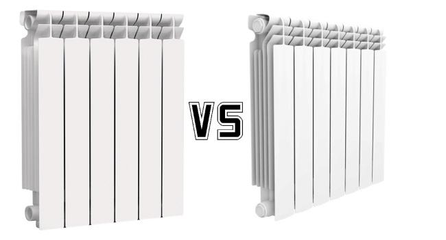 Алюминиевые или биметаллические радиаторы отопления лучше