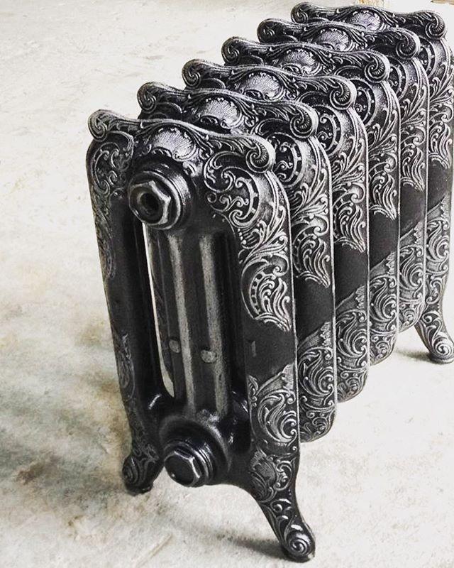 Чугунный радиатор для отопления частного дома