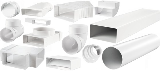 Вентиляционные короба пластиковые