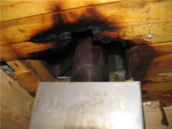 Пожарная безопасность при монтаже сэндвич трубы