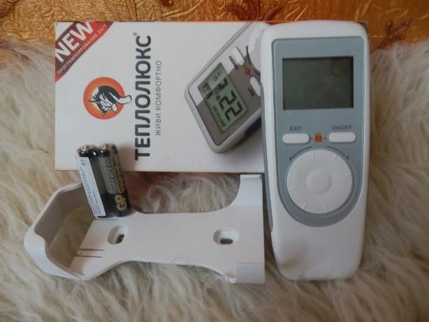 Пульт для управления внутрипольных радиаторов