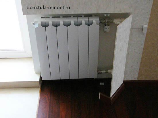 термостат накладной на трубу отопления