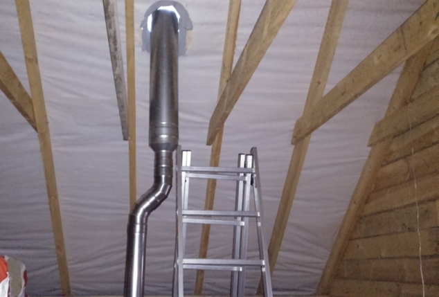 Cендвичные трубы для дымохода размеры