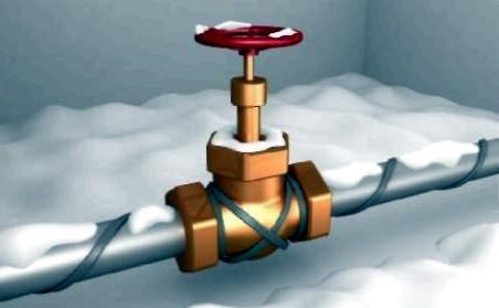 Саморегулирующийся обогревающий кабель для водопровода