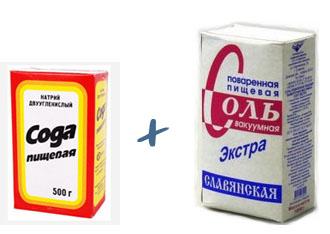 Соль и сода для прочистки канализации и засоров