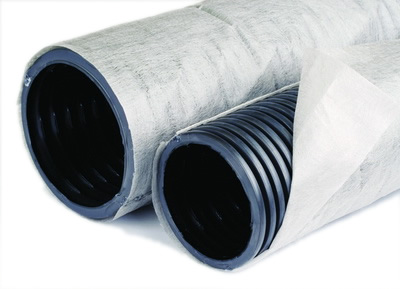 Трубы дренажные 110 мм с геотекстильным фильтром