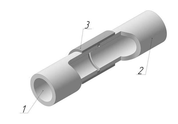 Асбестовая труба соединение