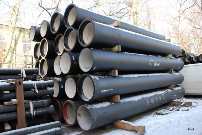Размеры чугунной трубы для канализации