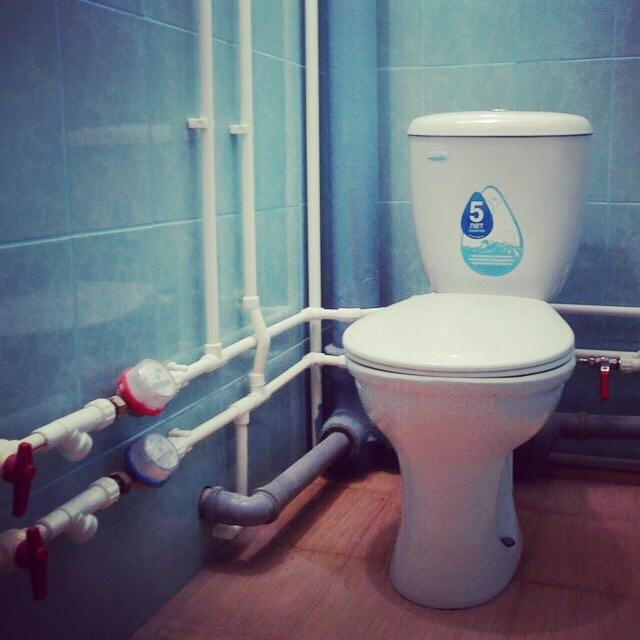 В квартире запах канализации