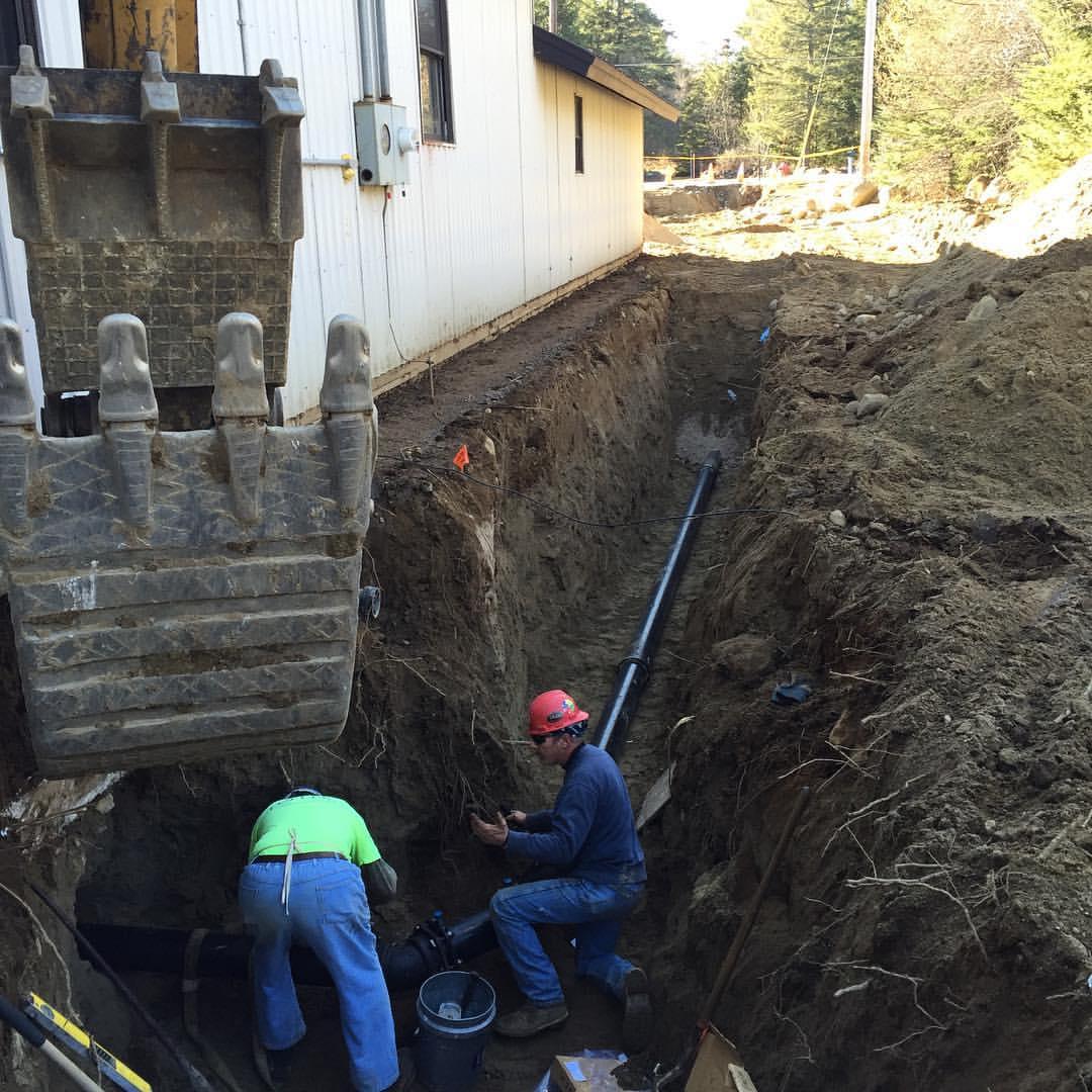 Труба пнд для канализации в землю
