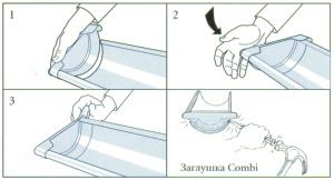 Монтаж заглушки для водостока
