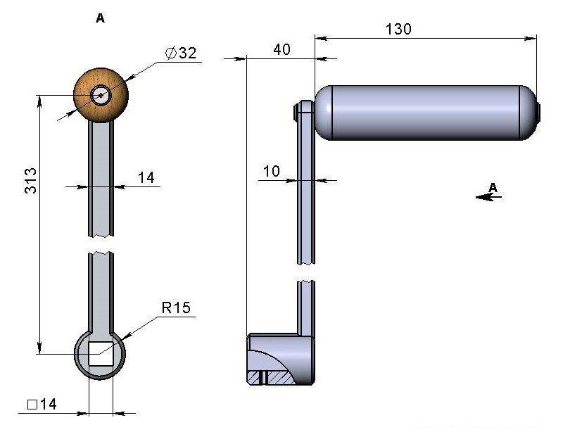 Трубогиб для профильной трубы своими руками фото