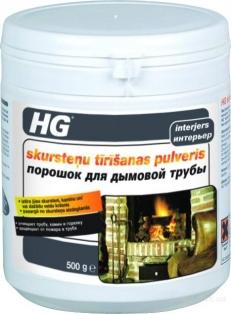 HG - порошок для дымоходной трубы