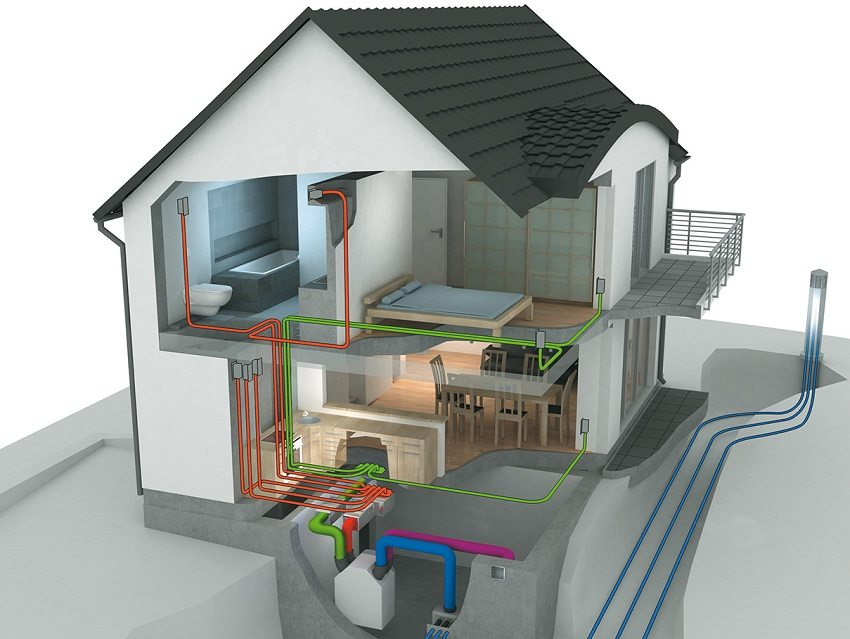 Обустройство вентиляции в загородном доме