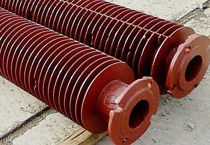 Чугунная ребристая экономайзерная труба — характеристики и сфера применения
