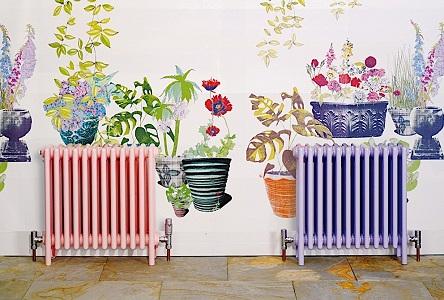 Глянцевые или матовые краски для радиаторов отопления