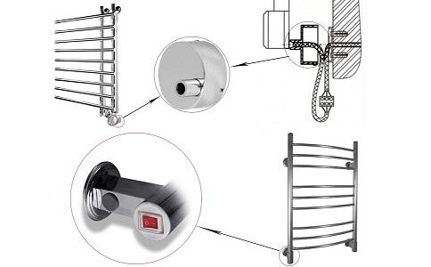 Как работает электрический полотенцесушитель