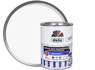 Краска Dufa для радиаторов отопления