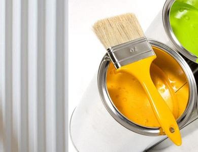 Выбираем краску для радиаторов отопления