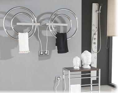 Особенности монтажа электрических полотенцесушителей