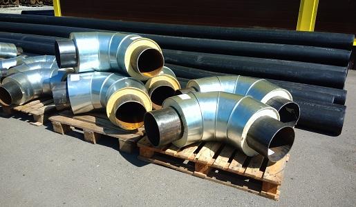 Предизолированные отводы для монтажа труб