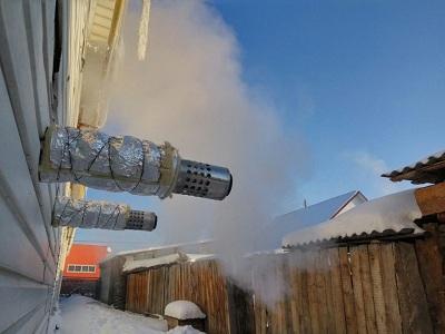 Недостатки коаксиального дымохода